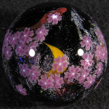 Cosmic Cherry Blossoms Size: 1.39 Price: SOLD