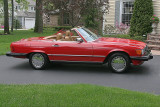 The Mercedes 560 SL Gallery