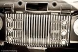 1953 Buick Dashboard Detail