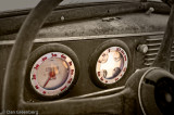 Art Deco Dashboard from a 1937 Oldsmobile