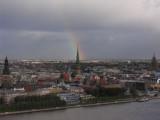 Rainbow over Riga