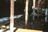 Inside the 4-H Cow Barn