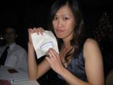 she's so sad because she won a 2 dollar macy's gift card