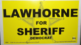 The Kickoff for Sheriff Dana Lawhorne's Re-Election 2009