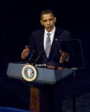 President Barack Obama at DNC Fundraiser