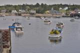 Southwest Harbor Pastel