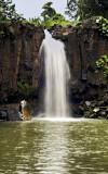 Private Waterfall in Kauai