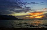 Sunset, Hanalei Bay