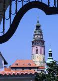 Towers, Cesky Krumlov