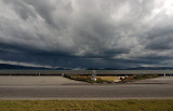Southerly storm approaches Petone