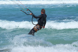 Kite Surfing at Lyall Bay