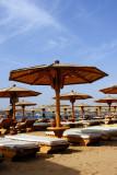 Umbrella world at Naama Bay