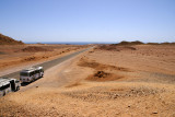 On the way to Ras Mohamed National Park