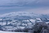 Lough Salt Mountain in Winter