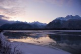 First light over Chilkat