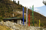 Prayer flags on every hill