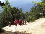 Descending to Paro Valley
