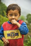 Boy in a village above Ranjung