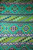 Hand-woven fabric