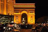 L'Arc de triomphe du Paris Hotel