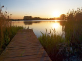 2009-04-29 Sunset at the lake