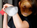 2007-10-31 Nicole with sword