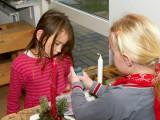 2007-12-11 Making Christmas decorations
