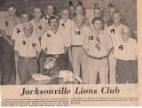Jacksonville Lions Club  c. 1978