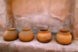 Four Clay pots (Tumacácori)