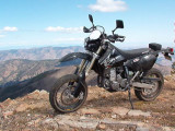 DRZ400SM at 7000ft