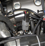 Honda Fuel Injection Connector Installed on Power Surge Connector