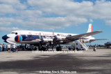 2008 - the Historical Flight Foundation's restored Eastern Air Lines DC-7B N836D Open House aviation stock photo #1446