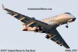 2007 - Bombardier BD-100 Challenger 300 VP-CDV corporate aviation stock photo #4989