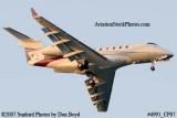 2007 - Bombardier BD-100 Challenger 300 VP-CDV corporate aviation stock photo #4991