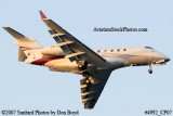 2007 - Bombardier BD-100 Challenger 300 VP-CDV corporate aviation stock photo #4992