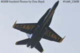 A solo Blue Angel at the 2008 Great Tennessee Air Show practice show at Smyrna aviation stock photo #1449