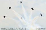The Blue Angels at the 2008 Great Tennessee Air Show practice show at Smyrna aviation stock photo #1465