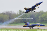 The Blue Angels solos taking off at the 2008 Great Tennessee Air Show practice show at Smyrna aviation stock photo #1541