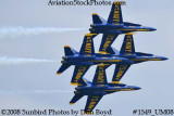 The Blue Angels at the 2008 Great Tennessee Air Show practice show at Smyrna aviation stock photo #1549