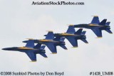 The Blue Angels at the 2008 Great Tennessee Air Show practice show at Smyrna aviation stock photo #1428