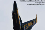 A solo Blue Angel at the 2008 Great Tennessee Air Show practice show at Smyrna aviation stock photo #1470