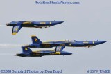 The Blue Angels at the 2008 Great Tennessee Air Show practice show at Smyrna aviation stock photo #1579