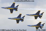 The Blue Angels at the 2008 Great Tennessee Air Show at Smyrna aviation stock photo #1796