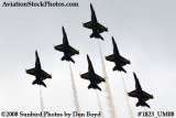The Blue Angels at the 2008 Great Tennessee Air Show at Smyrna aviation stock photo #1823
