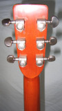 Rear of headstock  w/ Grover tuners
