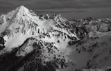 Mt Larrabee & The Pleiades  (LarrabeeGoat031410-02adjM.jpg)