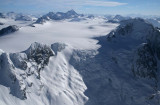 Geryon (R), Monarch Icefield, & Mt Monarch, View SE  (MonarchIF021808-_169.jpg)