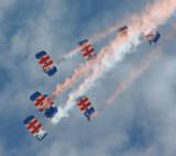 Falcons - RAF Parachute Display Team