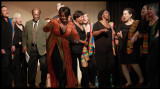 Amika Choir perform at the African Caribbean Centre, Highfields