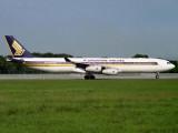 A340-300 9V-SJC